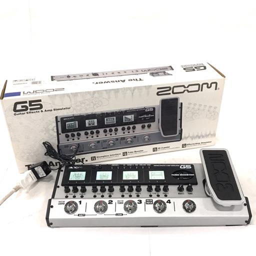ZOOM マルチエフェクター G5 ズーム